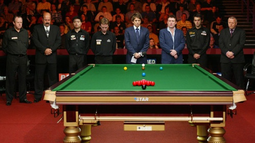 Gedenken an Paul Hunter bei der Premier League